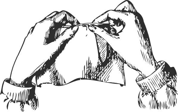 busy hands 2 (sewing)